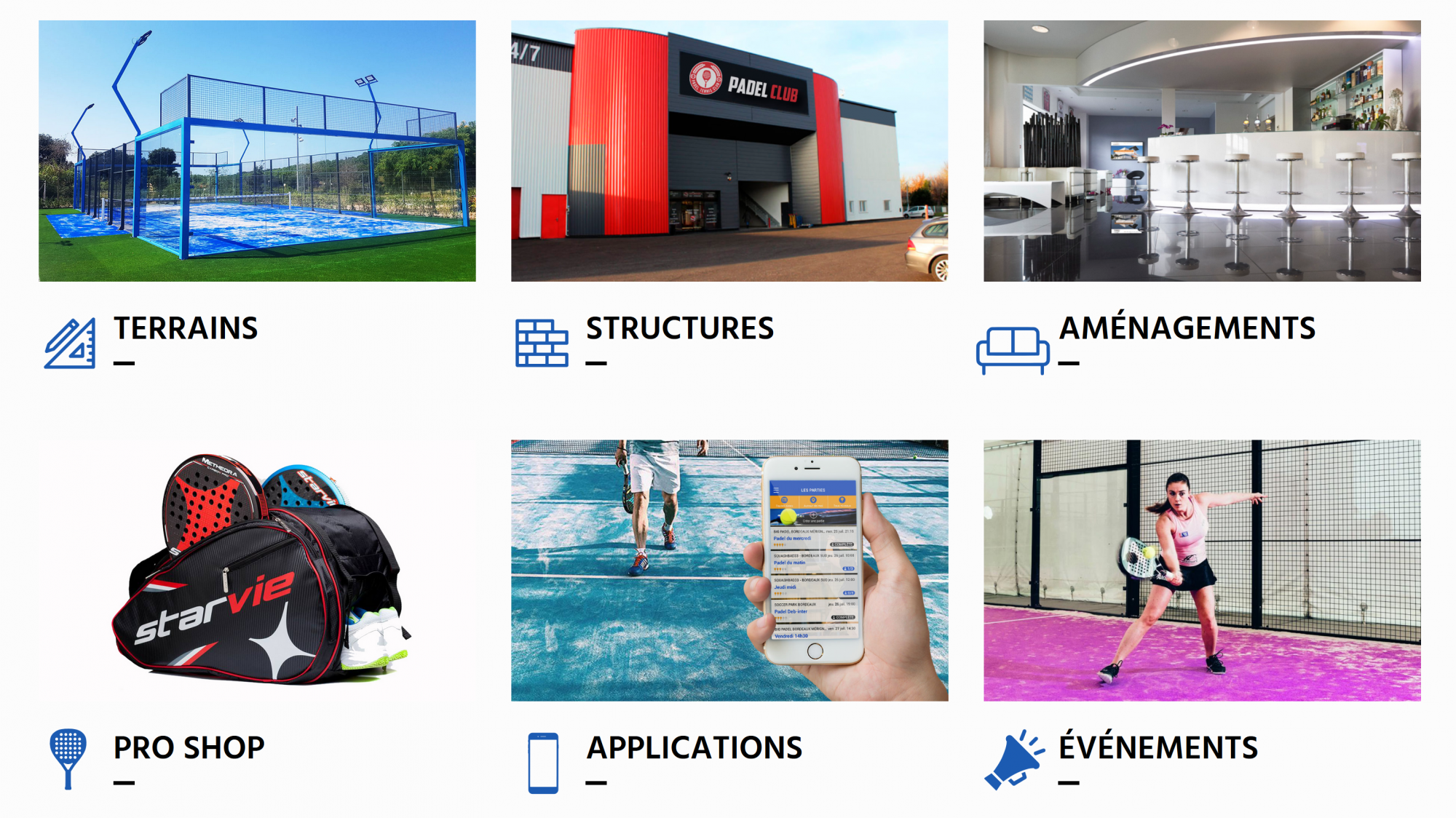 Unique in France: Your padel project from A to Z!