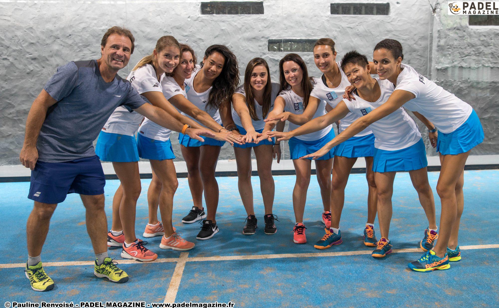 Un 100% chez les filles – Mondial de padel par paire