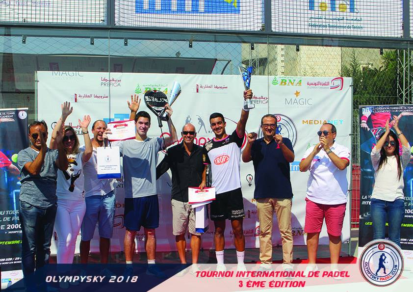 Cardonna / Gaspar s'impose au Tournoi International de Tunisie