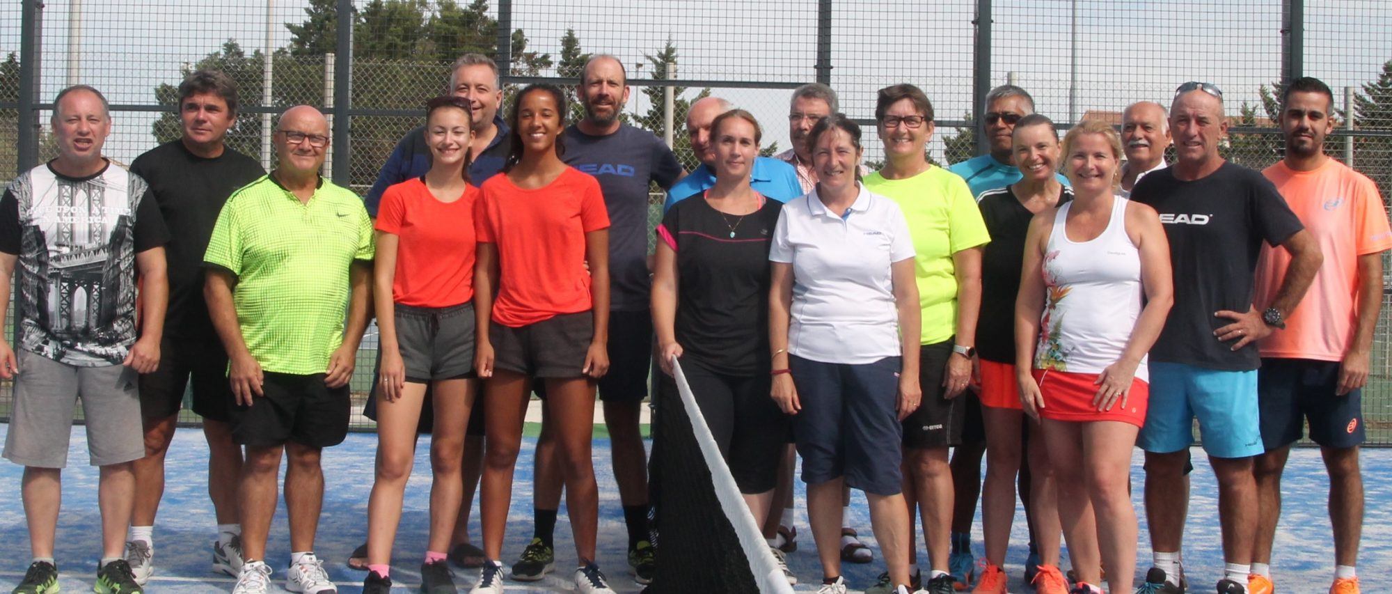 1ère édition d'un tournoi de PADEL P100, qualificatif du « National Padel Cup »