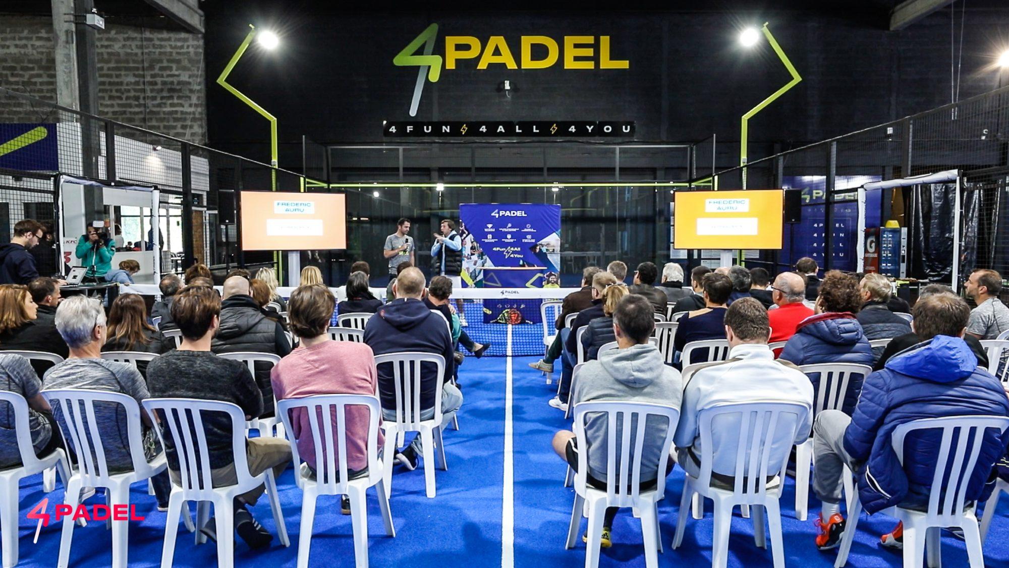 Lancio ufficiale della rete 4PADEL e l'inaugurazione del club del Bordeaux