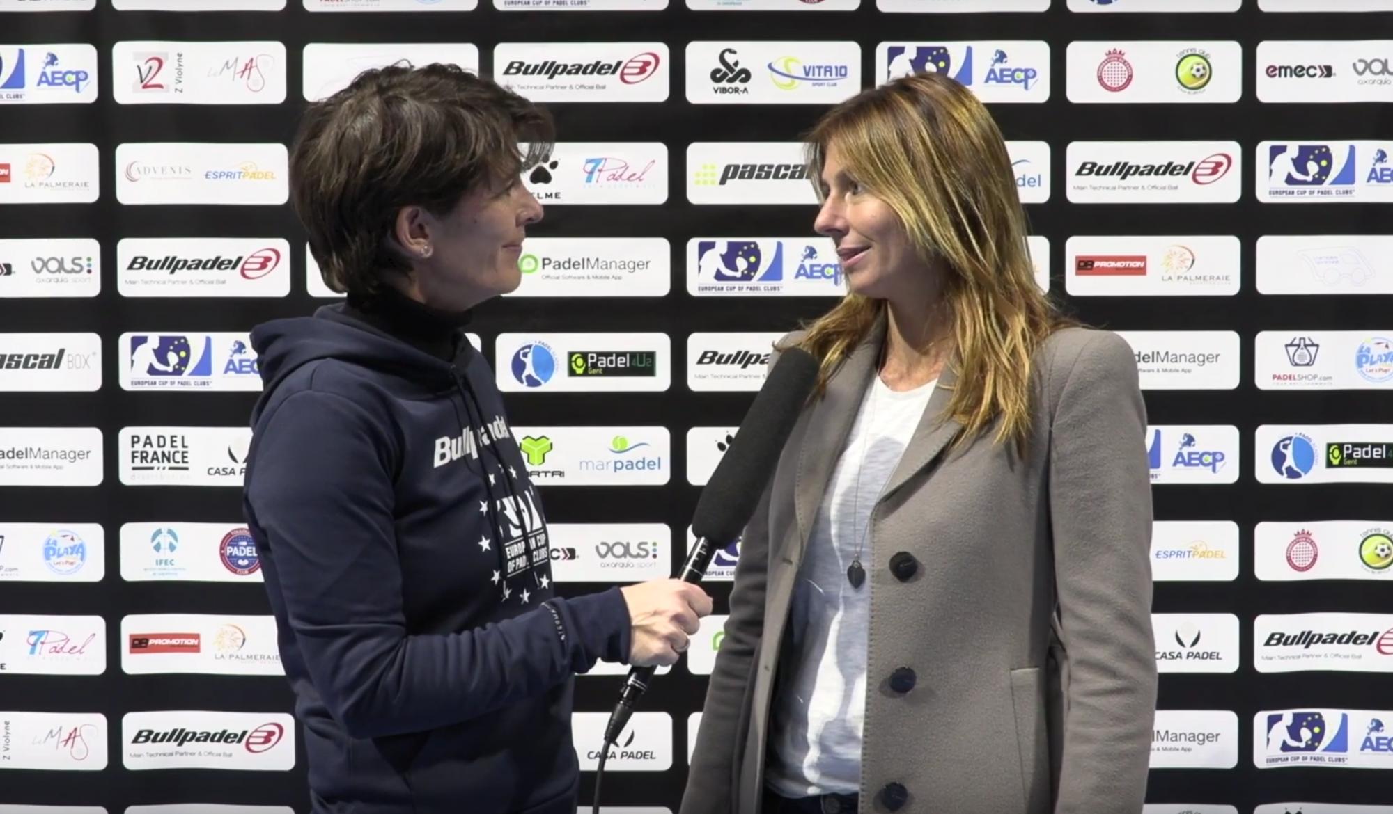 """Marta Conean : """"L'Euro Padel Cup et l'ITF pourquoi pas"""""""