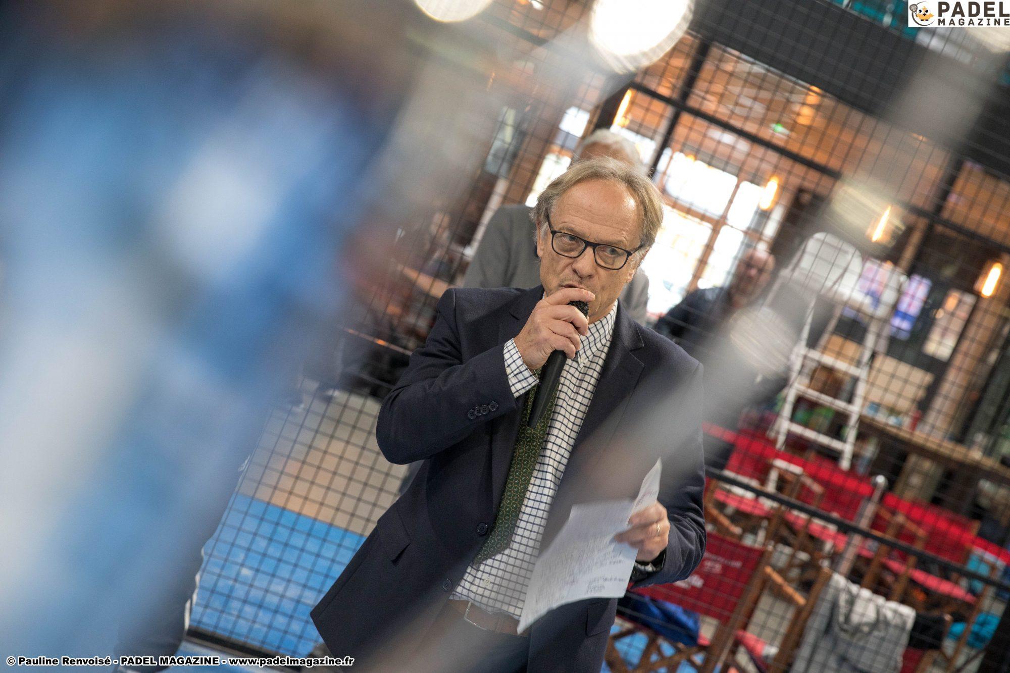 Claude Baights : «L'Open de France de Padel Perpignan, une Place à part»
