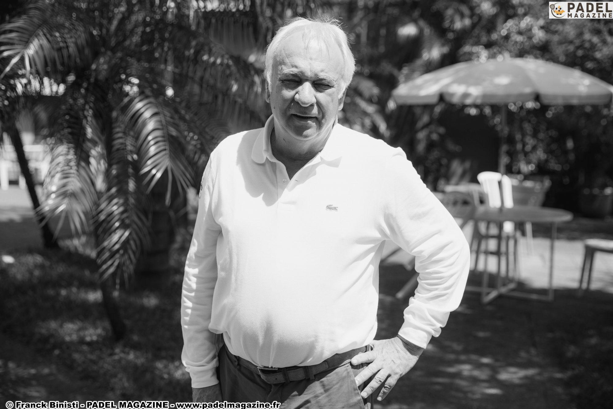 """Hubert Picquier : """"Des places publiques via la FFT Padel Tour"""""""
