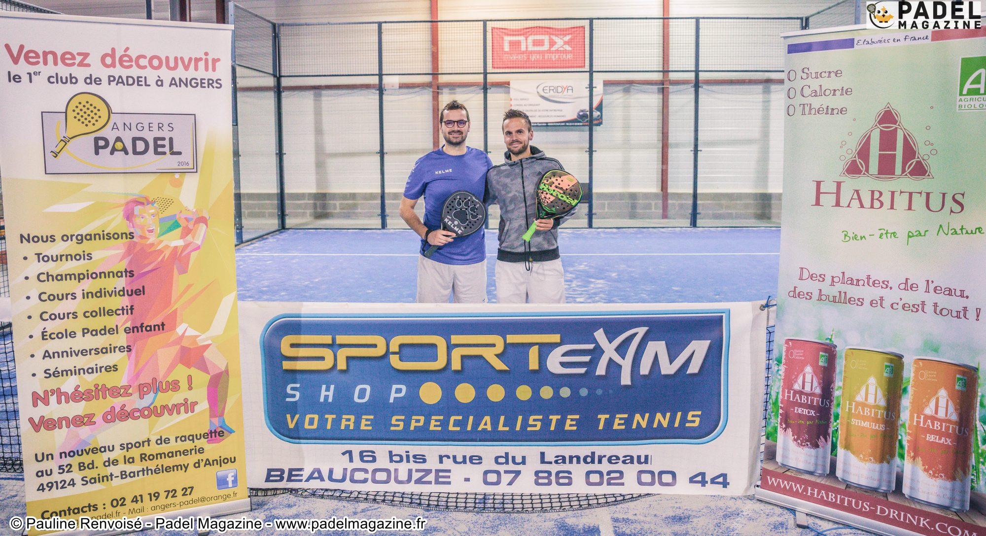 L'Open Angers Padel remporté par Durieux / Melmiès