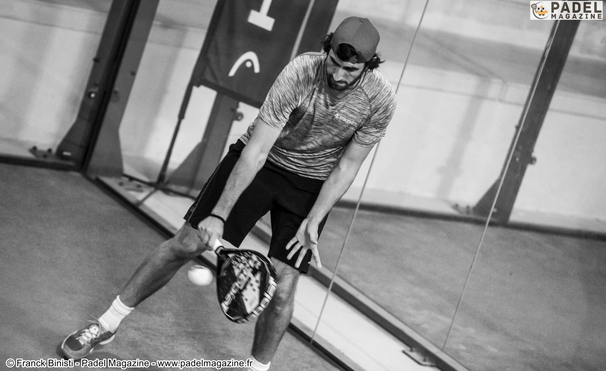 Double ration de padel le week-end dernier