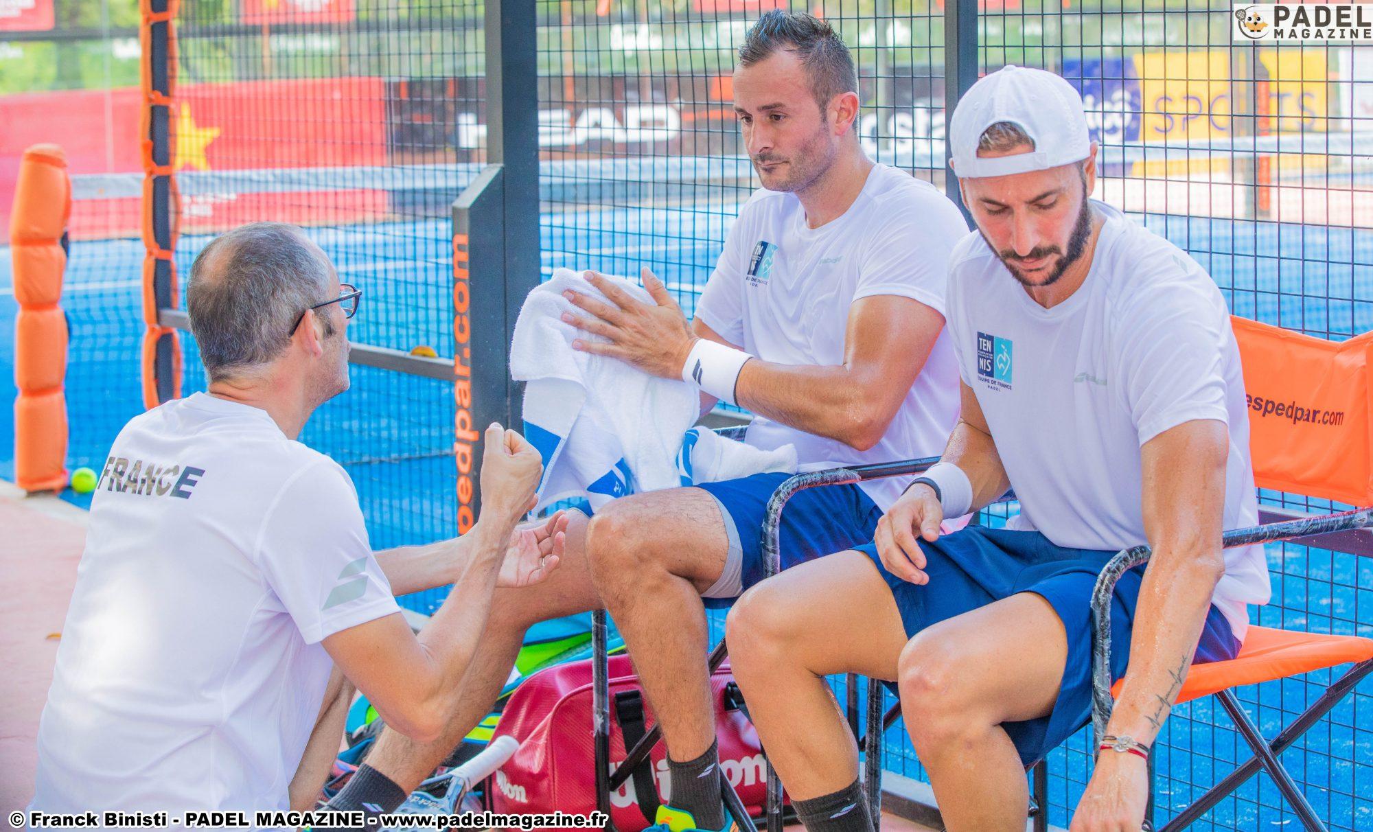 Oöverträffad kvalificering av det franska laget av Padel