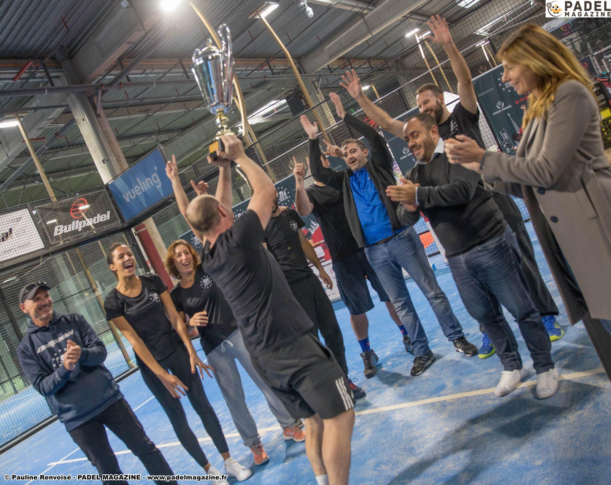 Résultats de l'Euro Padel Cup 2018