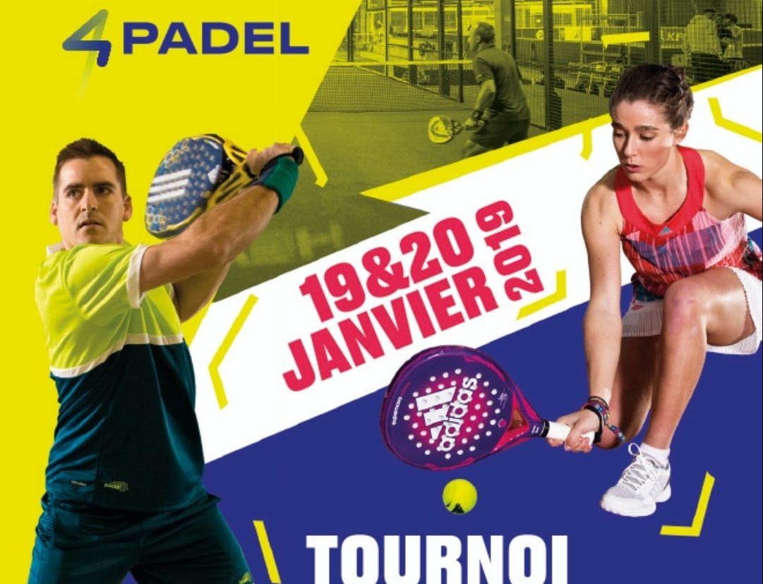 Torneig 4PADEL Créteil: 19 i 20 de gener de 2019