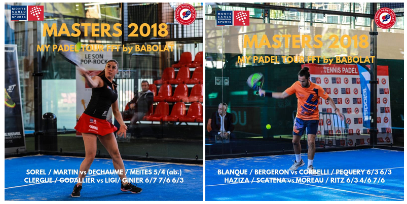 Master My Finals Padel Tour 2018 dalle 12:30