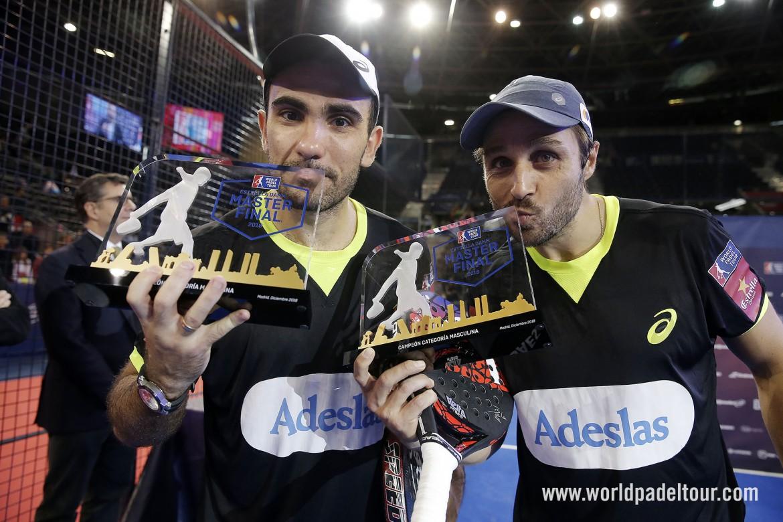 Balle de match de Bela et Lima au Masters World Padel Tour 2019