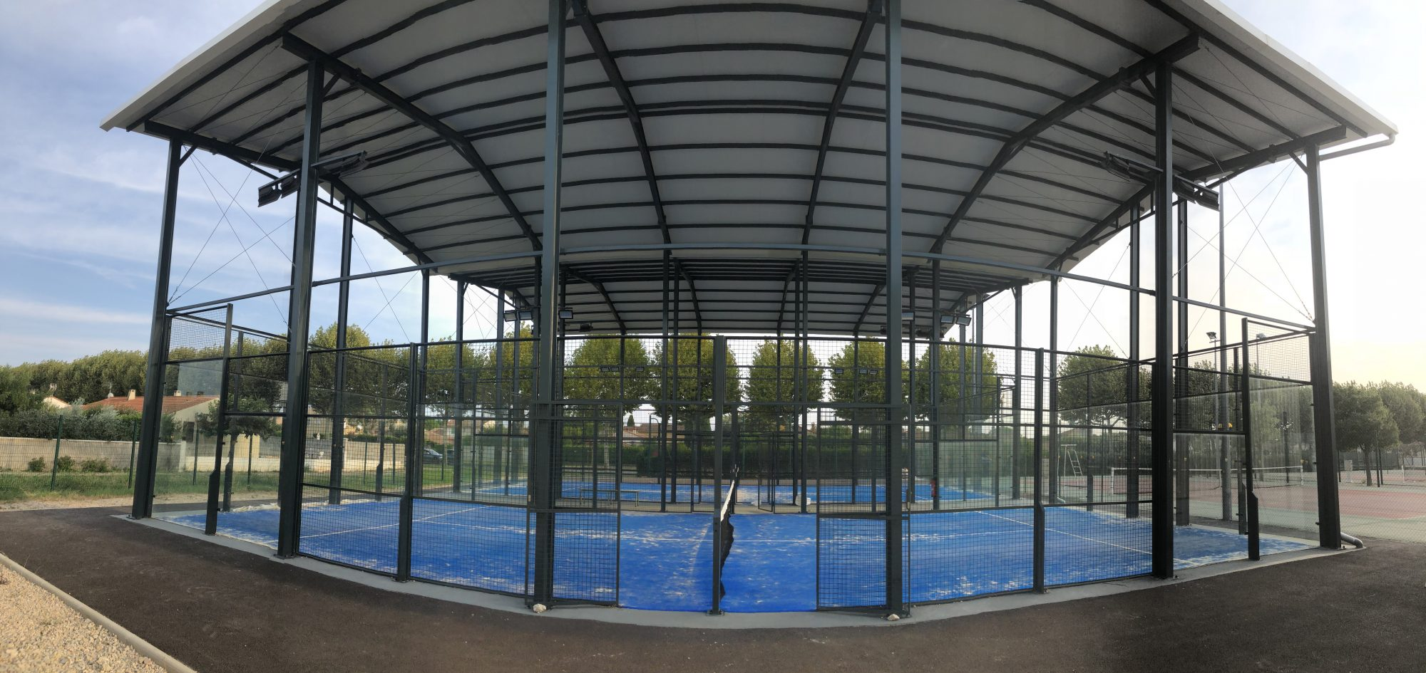 Le Padel Club d'Orange en image