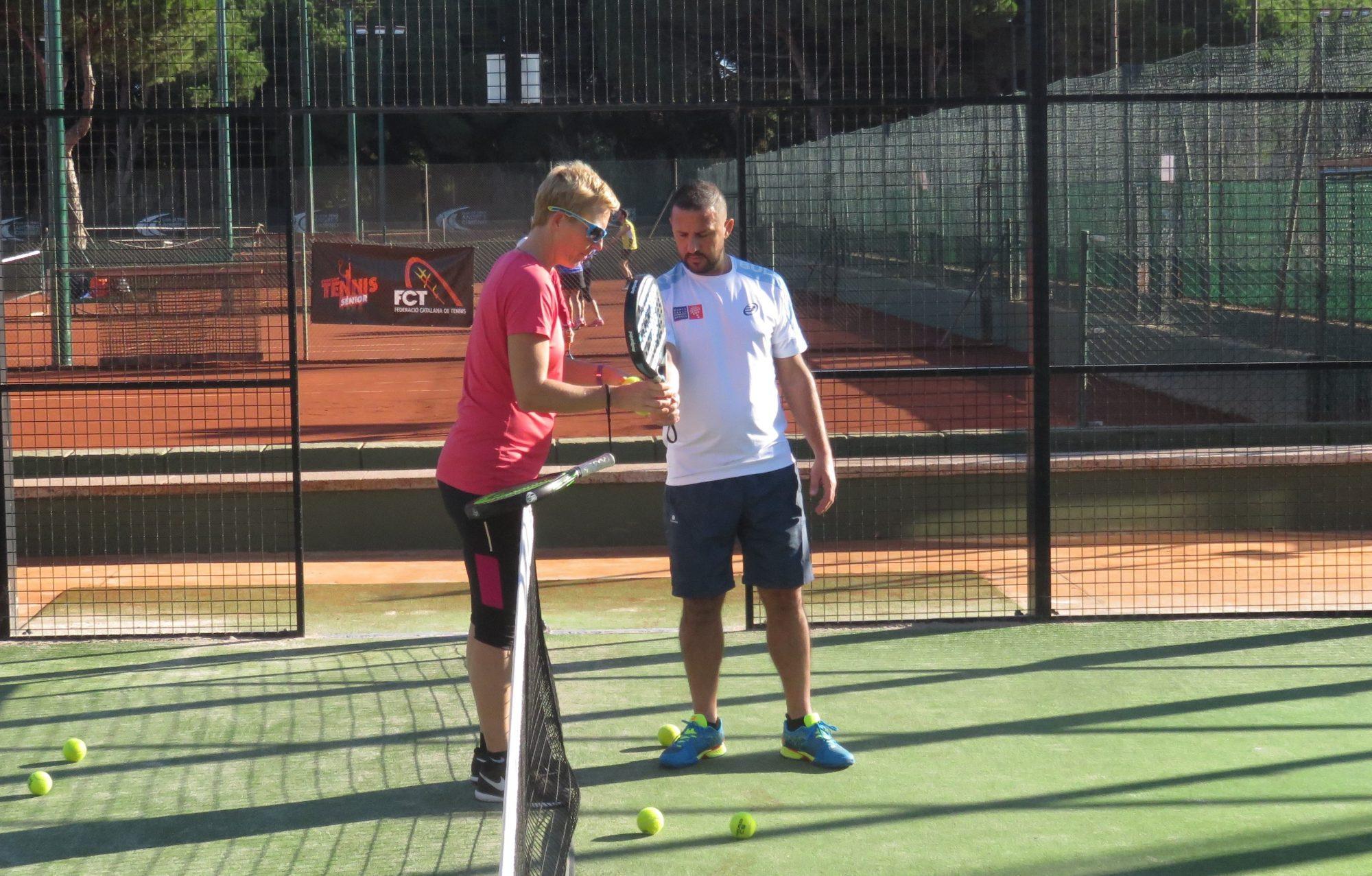 Les profs de tennis pour le padel ?
