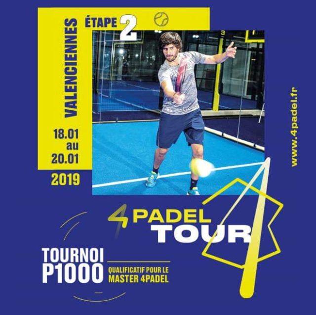2e édition du 4Padel Tour à Valenciennes