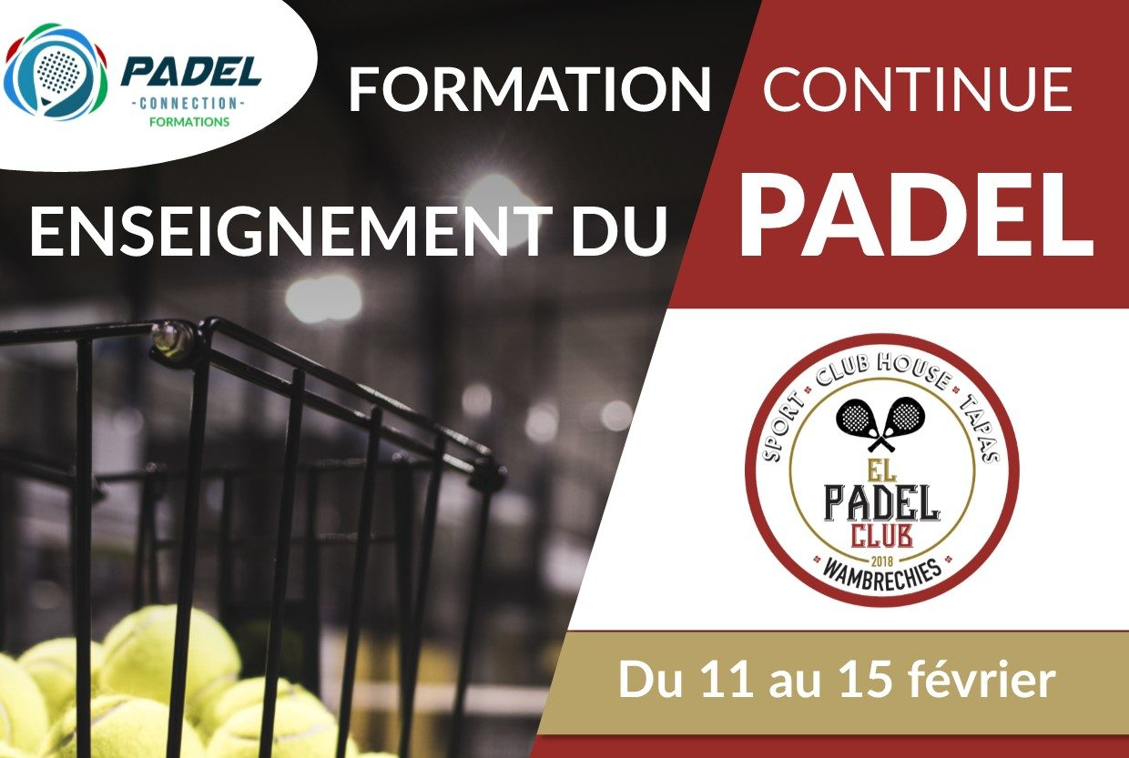 Formation padel à El Padel Club