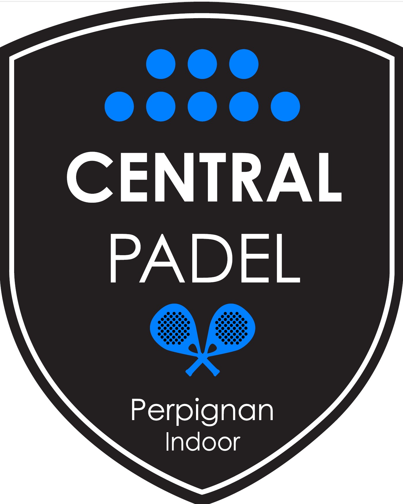Logo central padel perpignan