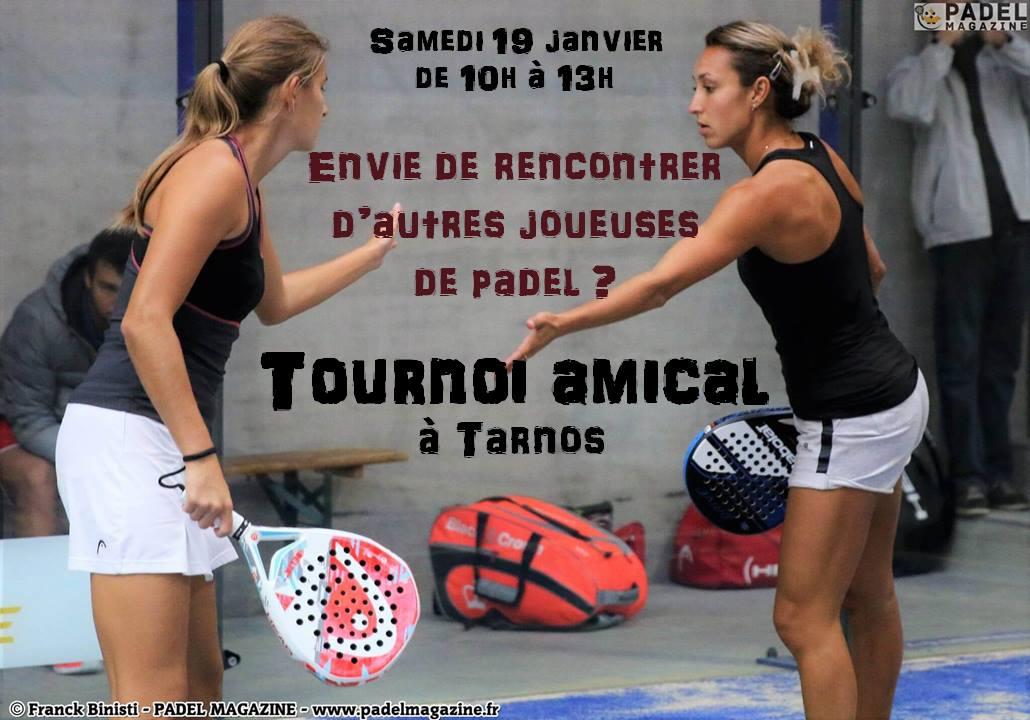 Torneo di paddle per donne a Tarnos