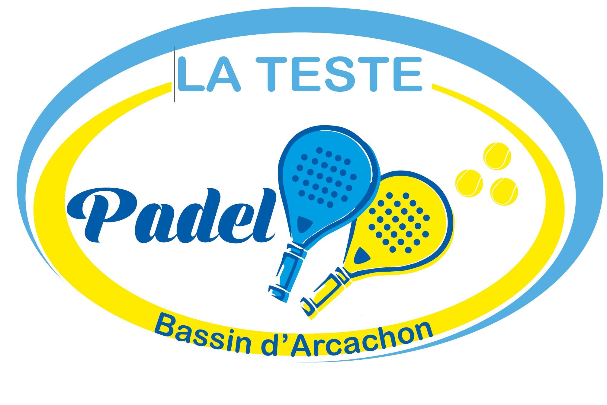 logo padel tennis club teste arcachon