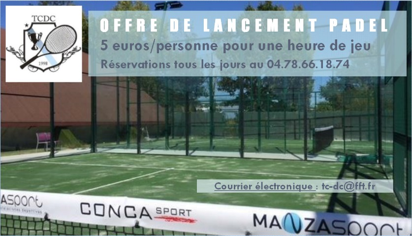 padel dardilly tennis club