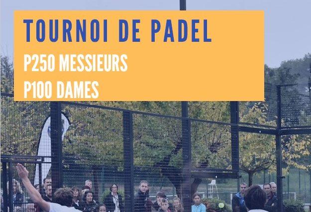 Open Padel Mouans-Sartoux – 16 et 17 février
