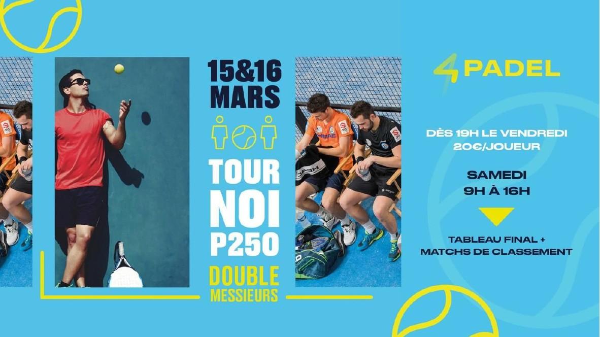 Open 4PADEL Valenciennes : P250 messieurs