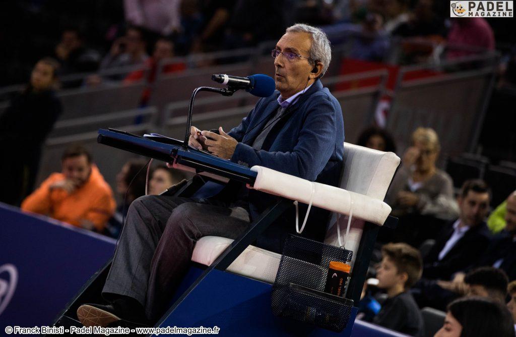 juge-arbitre padel FFT world padel tour