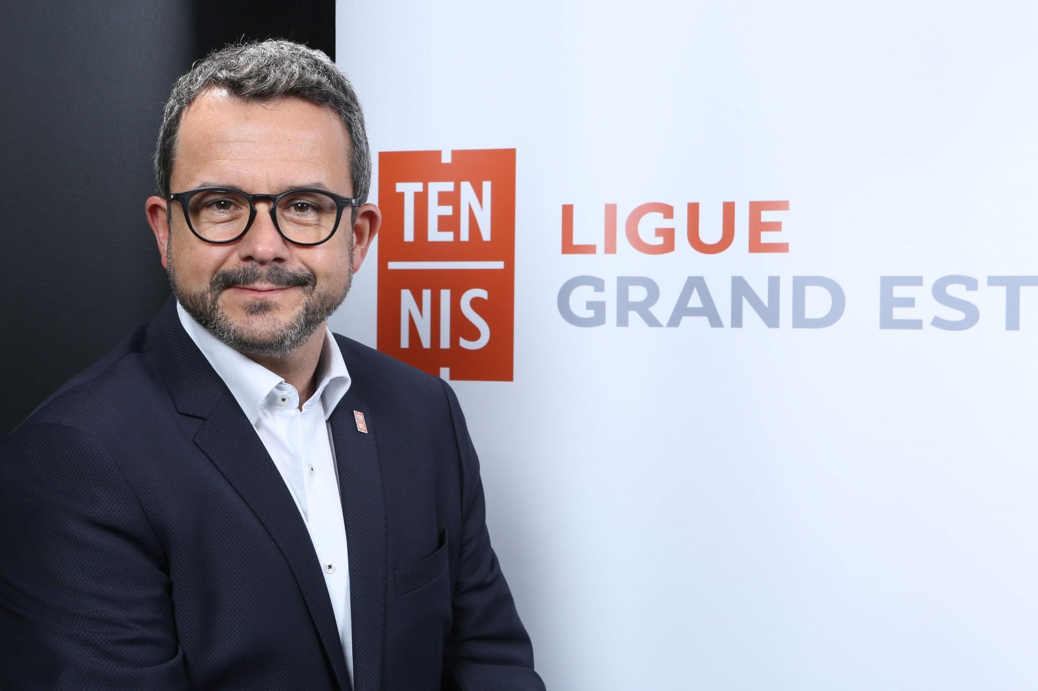 Lionel Ollinger nommé vice-président de la FFT