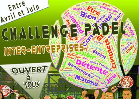 Challenge Padel Inter entreprises en Pays de la Loire