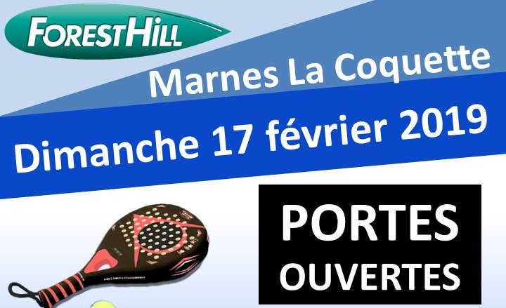 Forest Hill Marnes La Coquette: Open house Padel