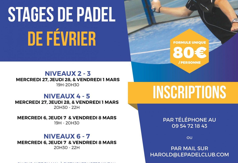 Stage de Padel Paris – Le Padel Club Bois d'Arcy