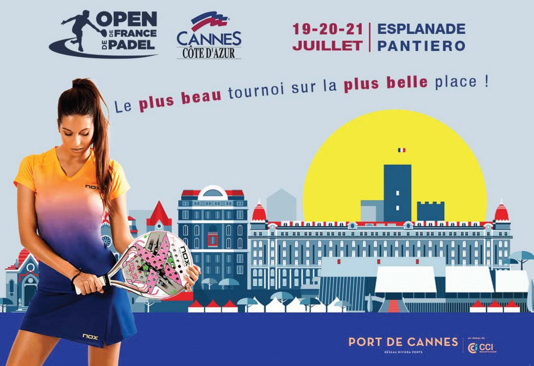 Open de France de padel Cannes : UNIQUE