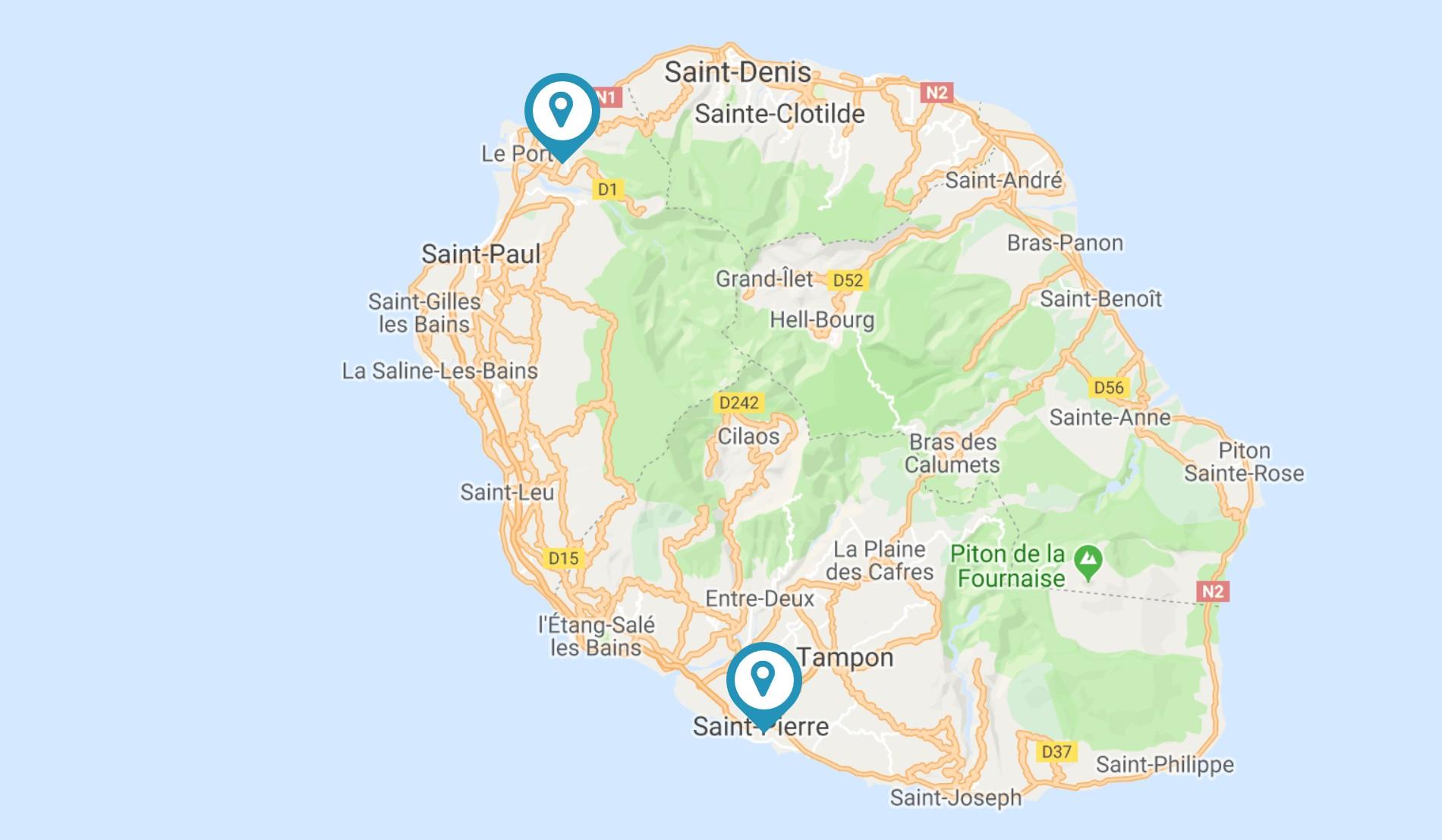 A może zagrasz w padla w Reunion?