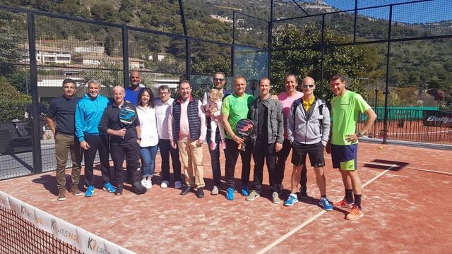 5e édition du challenge inter-entreprises de padel Monaco