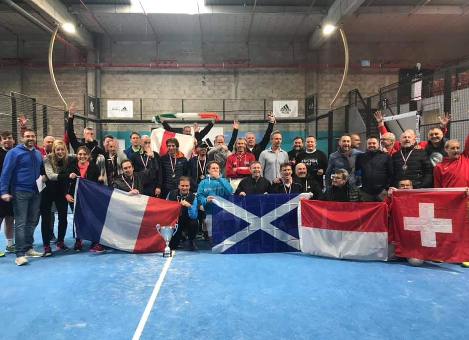 La France vainqueur du VI Nations Padel Tournament