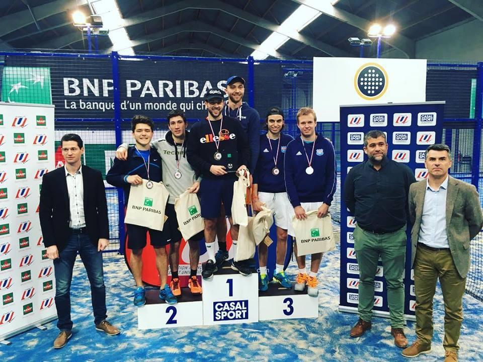 La Coupe de France de padel universitaire a ses vainqueurs