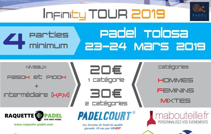 1st candle for Padel Tolosa with Padel Infinity