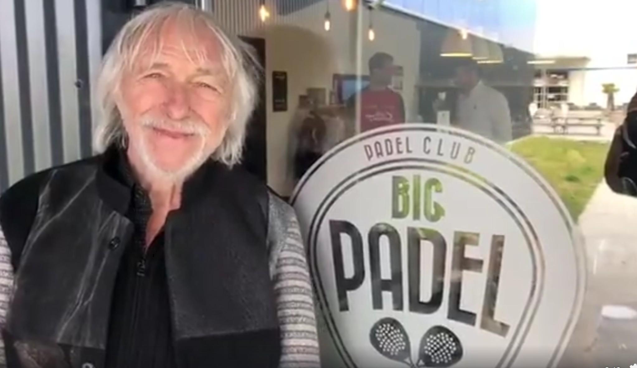 L'acteur Pierre Richard décrit le padel comme jamais au BIG PADEL Bordeaux