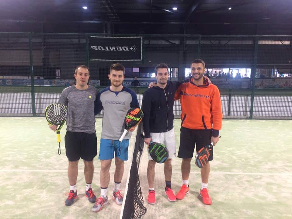 Marlot/Sanchez, vainqueurs du P500 du Clermont Cuc Tennis