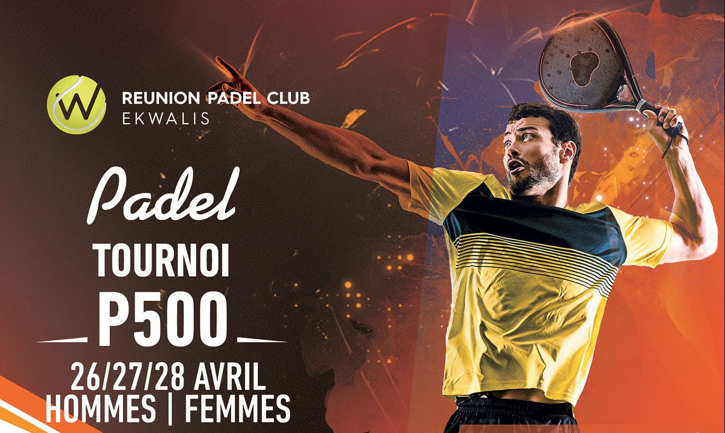 P500 - Padel Club Meeting - 26 na 28 w kwietniu