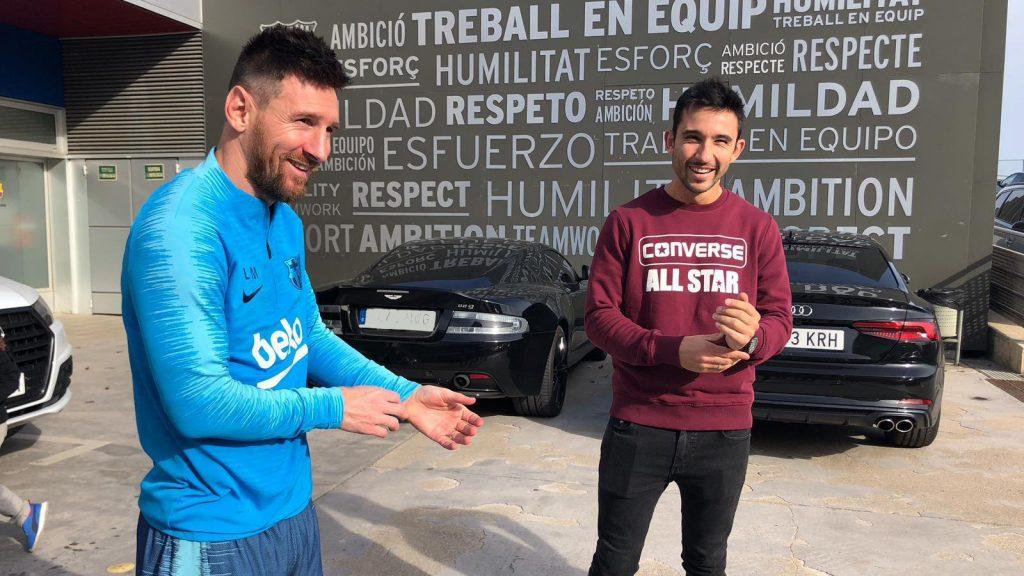 Lionel Messi Padel Sanyo
