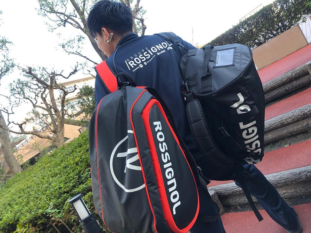 Rossignol Padel and his player Nippon