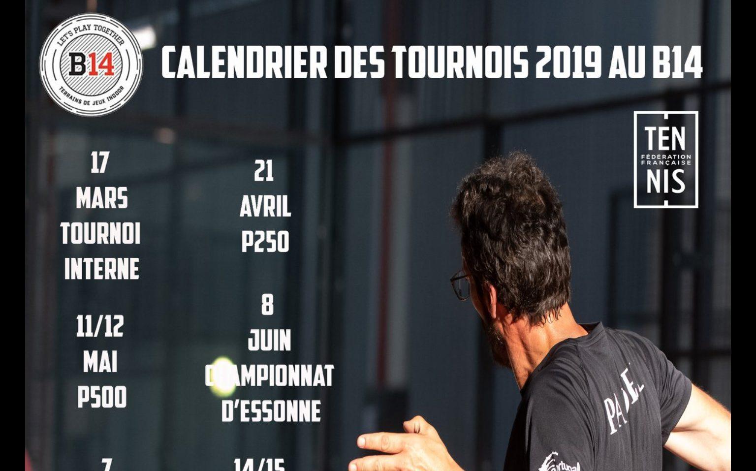 Kalendarz turniejów Padel na B14