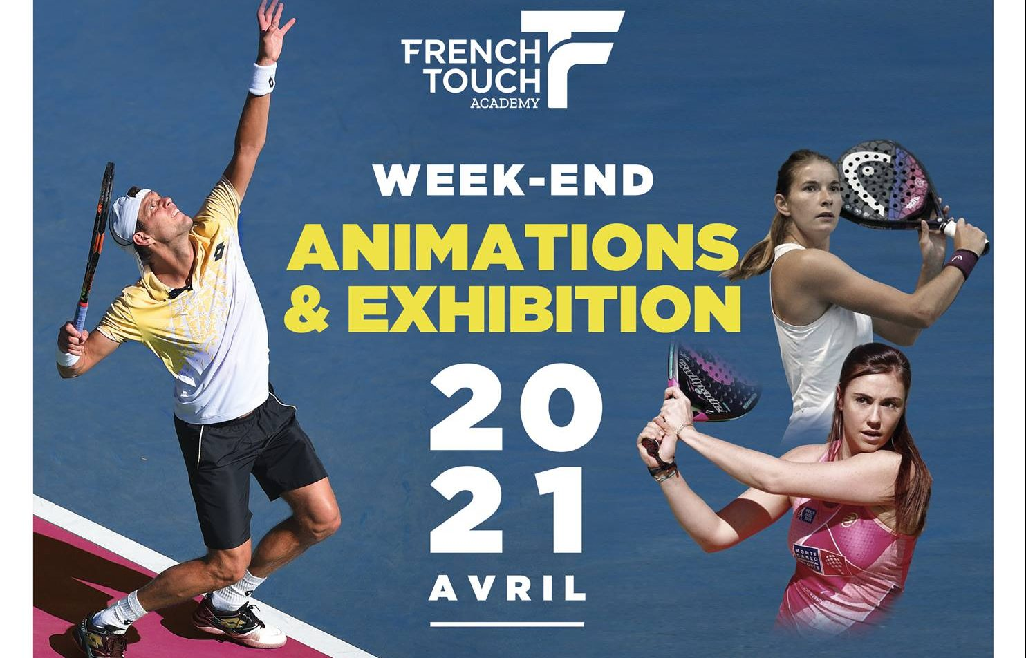 La French Touch Academy en mode padel