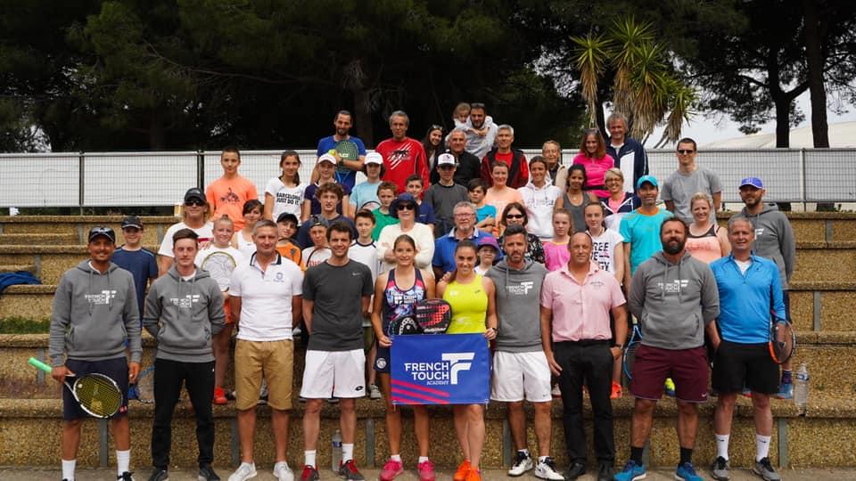 La French Touch Academy présente sa team Padel
