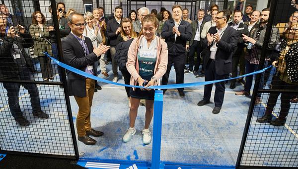 La nouvelle boutique Adidas Padel