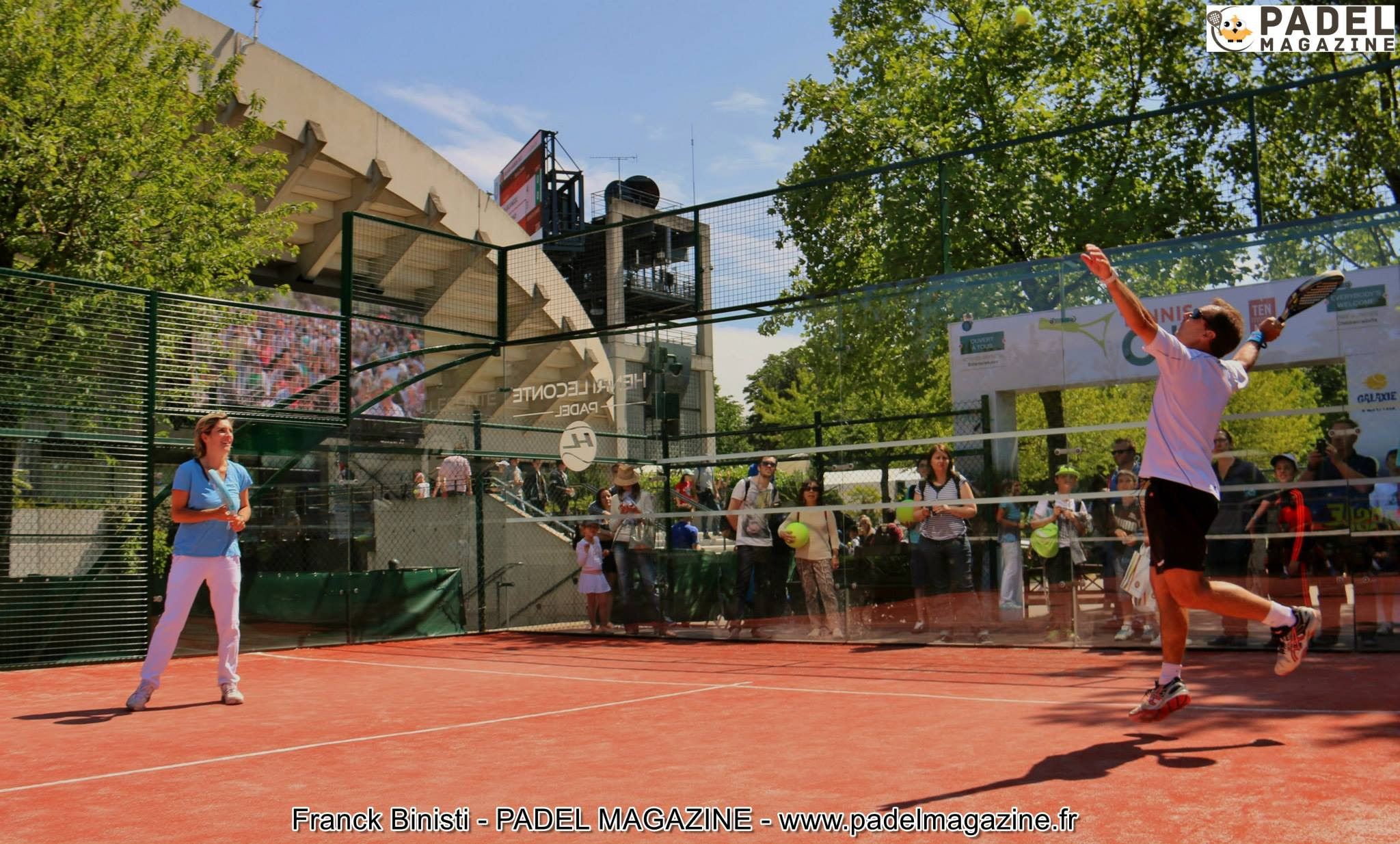 Roland-Garros and the padel : starting signal !
