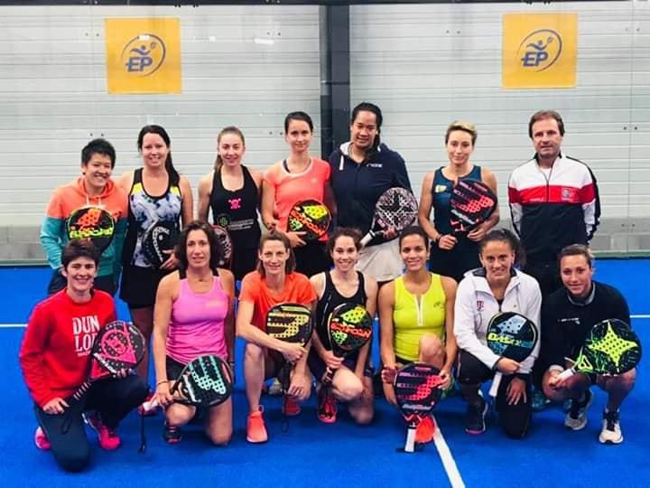 Equipe de France de padel dames 2019