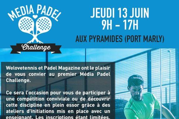 Média Padel Challenge : Tournoi des médias