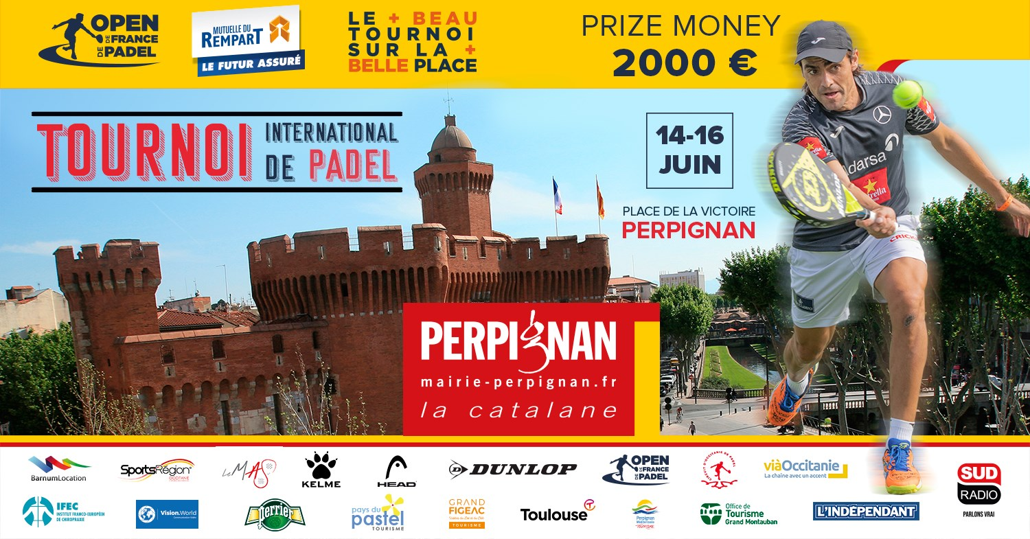 Qualifications Open de France de padel Perpignan
