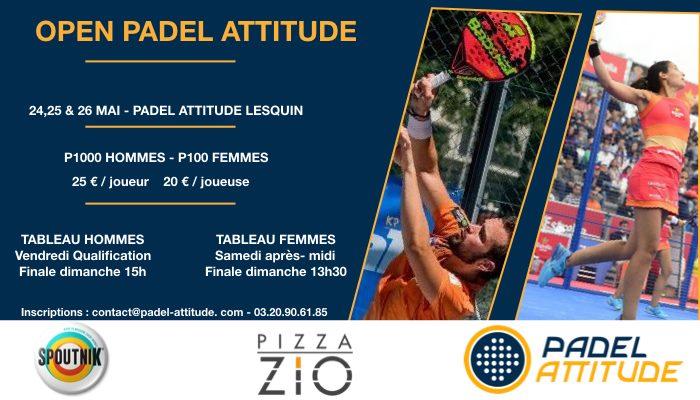 P1000 à Padel Attitude – 24 au 26 mai
